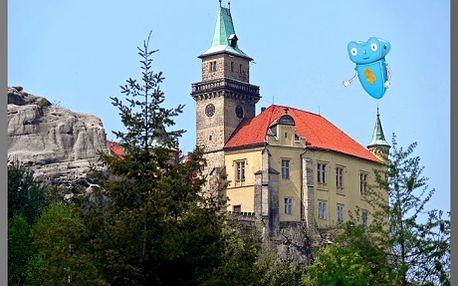PODZIMNÍ ROMANTIKA! 3 dny wellness pobyt na zámku Hrubá Skála, pro 2 osoby, PLNÁ PENZE, v pokojích kategorie LUX a poukaz na procedury v hodnotě 2000 Kč! Přijeďte si vychutnat podzimní romantiku na ZÁMKU HRUBÁ SKÁLA, v Českém ráji. Poslední příležitost - po naplnění kapacit již nebude opakováno nejen v tomto roce.