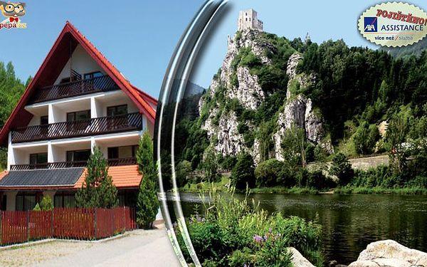 3 dny pro 2 osoby na Slovensku ve Vrátnej doline v obci Terchová se snídaněmi a bazénem.