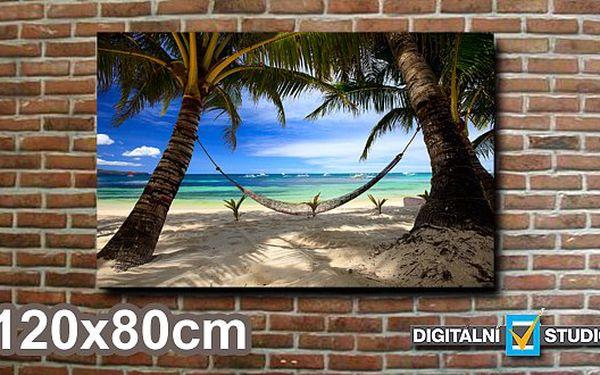 Velkoplošný obraz z vlastní fotografie, rozměr 120x80cm za 839 Kč. Rozjasněte svůj domov nebo věnujte dárek přímo na míru!