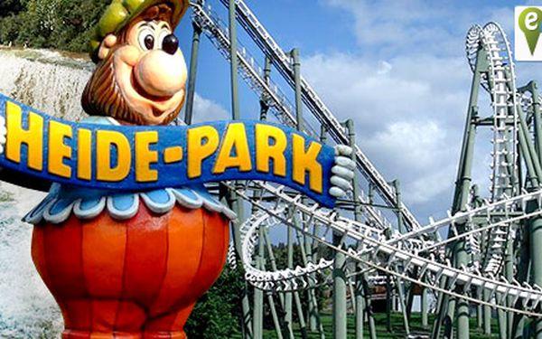 Víkend v zábavním Heide parku v Německu