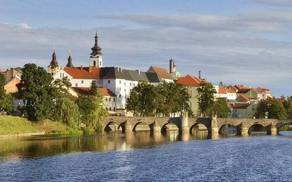 Historický Písek na jihu Čech pro DVA na 3 dny