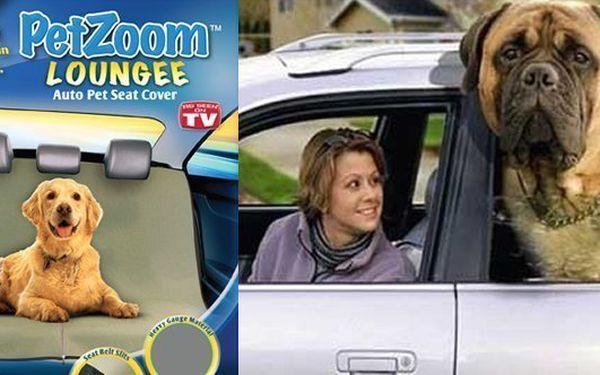 Čistou jízdu pro Vás a Vašeho domácího mazlíčka se PETzoom Loungee - zvířecí deka do auta - včetně poštovného. Přestože si bude hrát a dovádět Váš miláček na zadním sedadle, zůstane čisté a útulné. Pasuje na každé sedadlo, v jakékoli velikosti vozu.