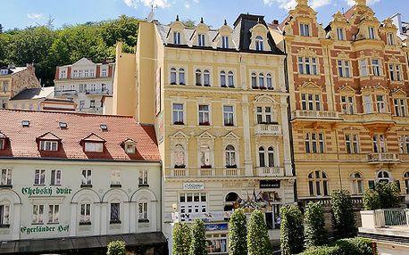 Romantický relax ve ****hotelu v srdci historické části Karlových Varů