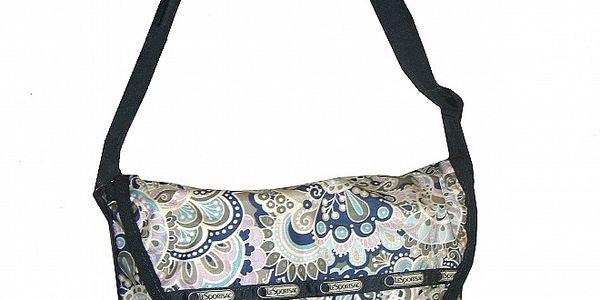 Dámská taška přes rameno LeSportsac s květinovým potiskem