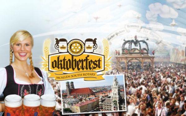 OKTOBERFEST v bavorském Mnichově s možností navštívit BMW Welt nyní jen za 1175 Kč! Přijďte si užít jedinečnou atmosféru festivalu piva.