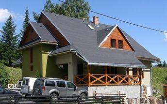 LEN 39 € za vysnívaný pobyt v novom rodinnom penzióne Bocorka, v malebnej prírode Nízkych Tatier, pre 2 osoby na 3 dni s raňajkami a vstupom do sauny.