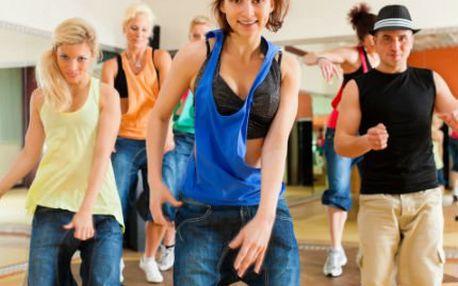 1 hodina cvičení energické Zumby! Vyrýsujte si tělo zábavnou formou v rytmu latinskoamerické hudby!