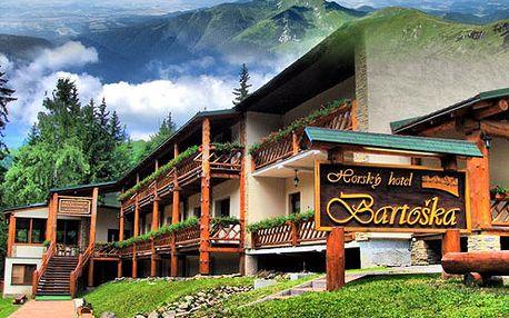 2 osoby na 3 dni v horskom hoteli Bartoška