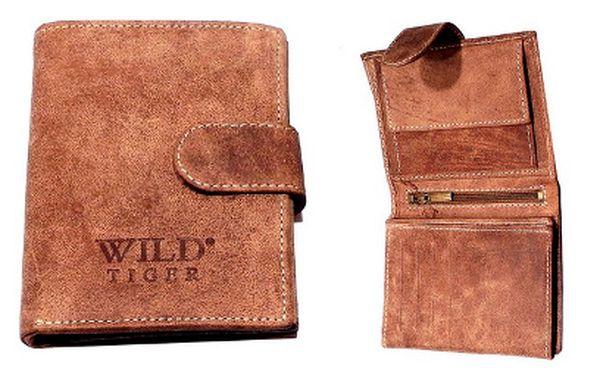 Kožené peněženky Wild Tiger za 299 Kč!