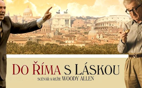 2 lístky do kina Lucerna na film Do Říma s láskou