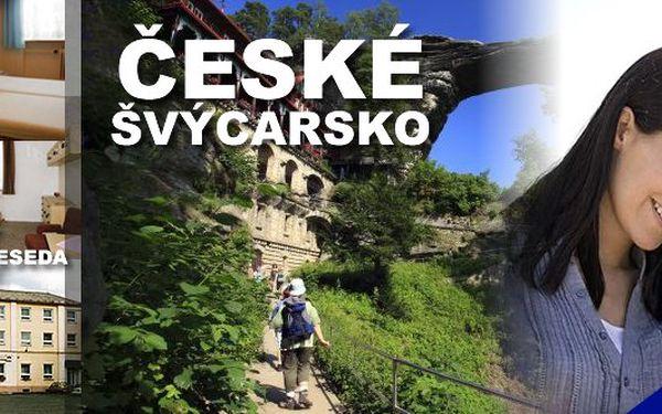 Česko - Saské Švýcarsko - relaxační pobyt pro 2 osoby na tři dny s polopenzí v hotelu Beseda*** v Krásné Lípě v srdci národního parku v Chráněné krajinné oblasti Labské pískovce. Čeká Vás pohádková příroda, výlety pěšky i na kole a spousty dobrodružství, které v jiném ročním období nezažijete!