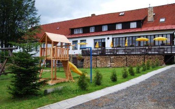 3denní pobyt pro 2 osoby na Šumavě! Polopenze a unikátní výhled z Javorníku. Nenechte si ujít!