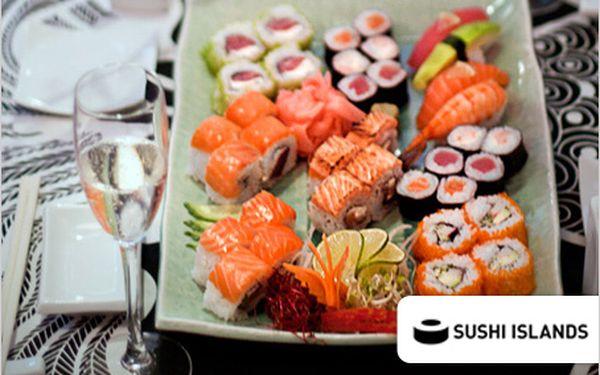 Udělejte si doma sushi party! 48 kousků sushi take away jen za 395 Kč.