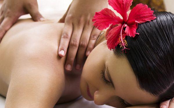 Havajská masáž Lomi Lomi a detoxikační tygrování