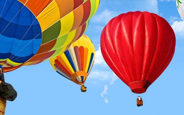 Let balonem pro jednoho nebo privátní let pro dva