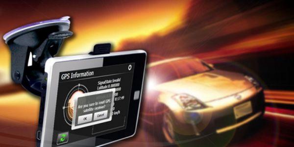 """GPS NAVIGACE 5"""" + mapové podklady CZ a EU jen za 1899 Kč! Přehrává audio a video! Pořiďte si navigaci s touto úžasnou slevou 53% a už se na svých cestách neztratíte!"""
