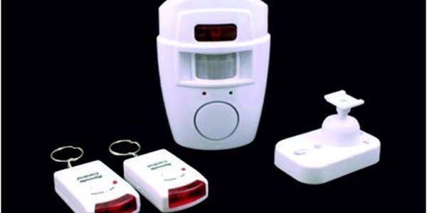 Sleva 86%!! Ochraňte svůj dům! Spolehlivý alarm s detektorem pohybu za 199 Kč!! Dostupné a levné bezpečí!