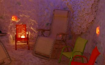 45 minut v solné jeskyni za fantastických 45 Kč!