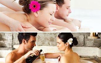 Pivní nebo vinná lázeň PRO DVA! K tomu masáž a popíjení vína nebo piva. Zažijte romantiku.