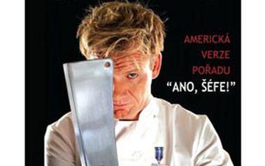 """Kolekce 5 DVD """"Gordon Ramsay: Noční můry kuchyně"""". Americká verze kulinářského pořadu """"Ano, šéfe!"""""""