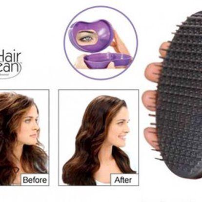 Magický kartáč, který rozčeše všechny typy a délky vlasů. Hair Bean za neskutečných 119 Kč. Navíc získáte i cestovní pouzdro!
