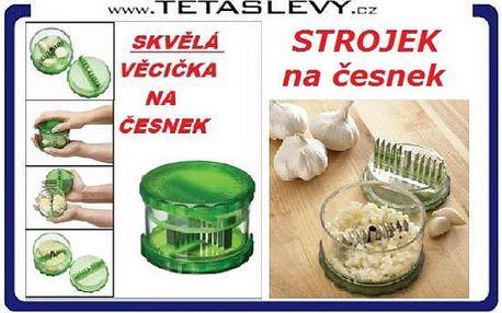 Milujete česnek?Je zde česnekovač pro usnadnění práce v kuchyni za 155 kč poštovné je zdarma