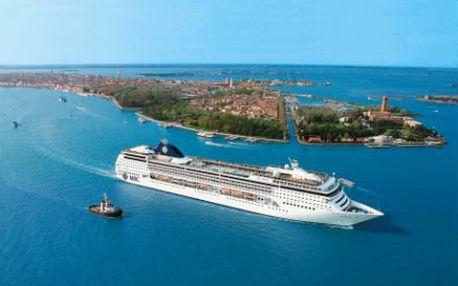 12denní plavba PRO DVA po Evropě! Plná penze! Z Benátek až do Turecka! 2 děti do 17 let ZDARMA!