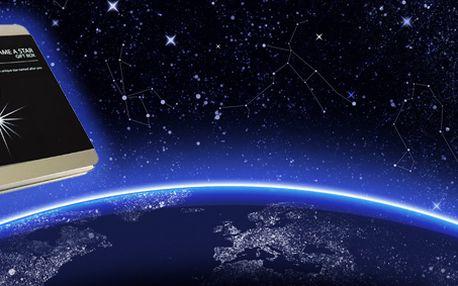 Pojmenujte si hvězdu! Překvapte svou přítelkyni při pohledu na noční oblohu!