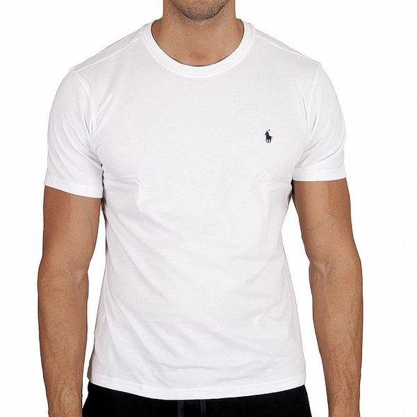 Sněhově bílé tričko Polo Ralph Lauren