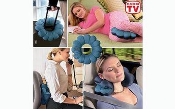 Zdravotní ergonomický polštář Total Pillow nyní za 109 Kč! Můžete jej ohýbat, zatočit, tvarovat - vše pro Vaše nejlepší pohodlí při cestách nebo u počítače! Sleva 82%!
