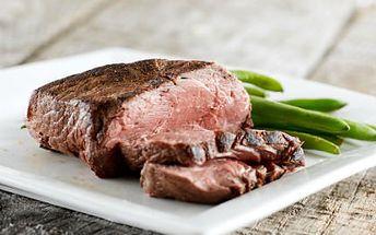 2x 200g steak z pravé svíčkové. Vyražte do stylové restaurace Arigone a gurmánské hody vás neminou!