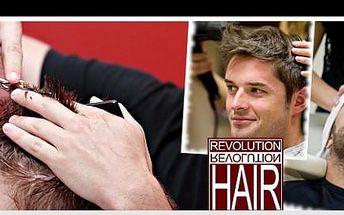 Pánové, dopřejte svým vlasům jedinečnou péči! Za pouhých 99,- Kč získáte balíček kadeřnických služeb, který obsahuje mytí, regeneraci, masáž, střih, vyfoukání a styling!