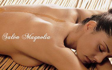 90 minutová medová masáž s masáží nohou! Luxusní prostředí salonu Magnolia 4*!