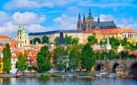 3 dny pro dva v Praze! Pobyt se snídaní, večeří, masáží a lístky na Petřínskou rozhlednu!