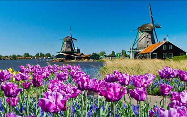Poznávací výlet do Amsterdamu s návstěvou skanzenu Zaanse Schans.