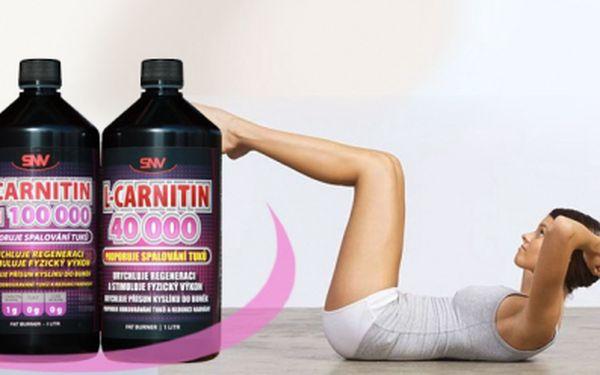 Nejsilnější L-Carnitin s chromem s koncentrací 100 000mg karnitinu v litrovém balení + navíc ZDARMA 1 litr L-Carnitin 40 000mg! 2 balení za pouhých 396 Kč! Spolehlivý pomocník při spalování tuků! S báječnou slevou 60%!