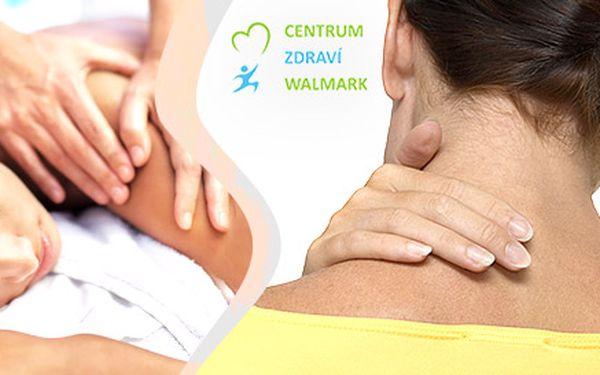 Zdravotní masáže proti bolestem zad (90 min)