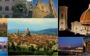4 denní letecký EUROVÍKEND- Itálie- FLORENCIE jen za 7.770,- Kč