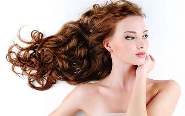 Ošetření vlasů keratinem! Mytí speciálním šampónem, aplikace keratinu a styling!