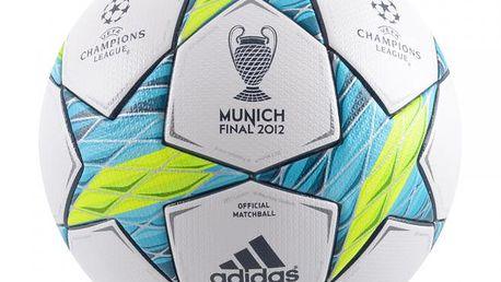 Fotbalový míč adidas Finale MUNICH 2012 X10555