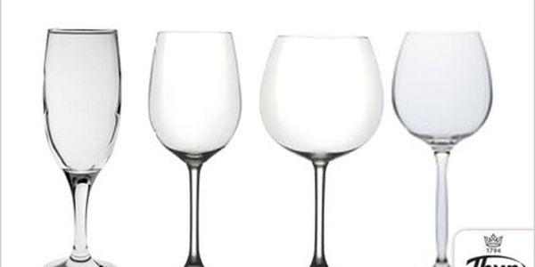 Nalijte si čistého vína v jedné ze 4 sad sklenic Thun!