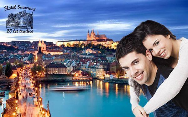 Třídenní pobyt pro 2 osoby v matičce Praze