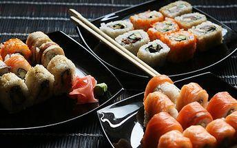 Japonské menu PRO DVA! 2x Wakame salát, domácí gyoza a 32 různých druhů SUSHI!