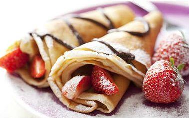 2 ks francouzských palačinek! Vychutnejte jednu z mnoha druhů palačinek na slano i na sladko!