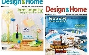 Roční předplatné časopisu Design&Home, včetně volných vstupenek na výstavy a veletrhy o bydlení.