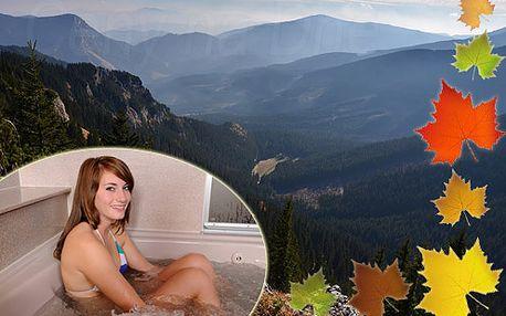 Pobyt s polpenziou a saunou v Nízkych Tatrách