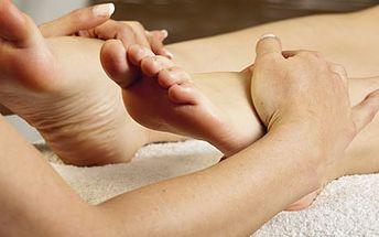 139 Kč za mokrou pedikúru, relaxační koupel a masáž nohou.