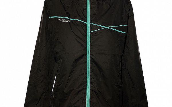 Dámská černá bunda Loap s kapucí