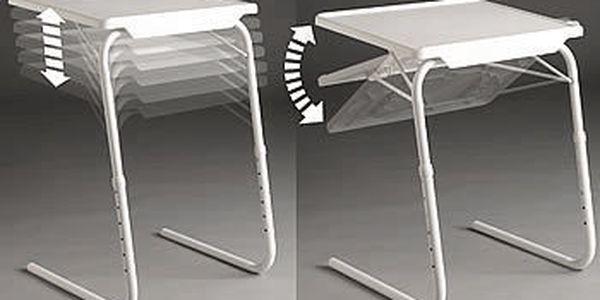 Potřebujete stolek, který si můžete podle potřeby přizpůsobovat? Stolek Table Mate je nyní za skvělou cenu 699 Kč!!