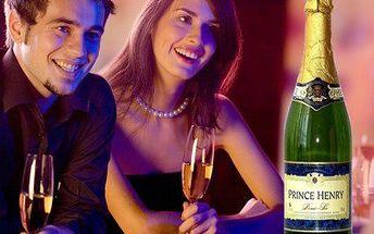 Francouzské víno Prince Henry! 6 láhví vynikajícího francouzského šumivého vína jen za 414 Kč!